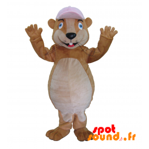 Rodent Mascot, Marmot, Brown Hamster - MASFR034258 - Mouse mascot