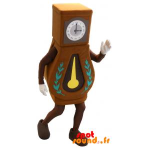Mascotte d'horloge de parquet, géante. Horloge comtoise - MASFR034277 - Mascottes d'objets