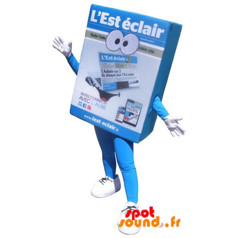 Mascot Newspaper, Magazine. Flash East Mascot - MASFR034283 - Mascots of objects