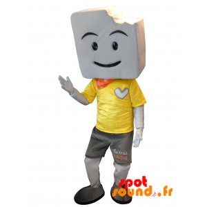 Mascot Mie Caline. Mascot Bread - MASFR034287 - Mascots famous characters