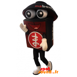Mascot Bento Giant, Black And Red - MASFR034295 - Mascots of objects