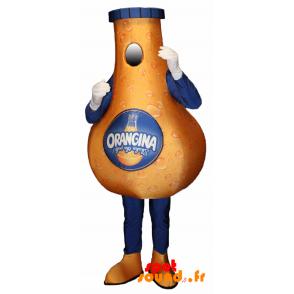 Bottle Mascot Giant Orangina. Mascot Orangina - MASFR034312 - Mascots of objects