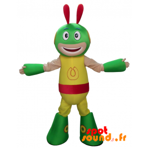 Extraterrestrial Mascot, Alien, Colorful Creature - MASFR034313 - Monsters mascots
