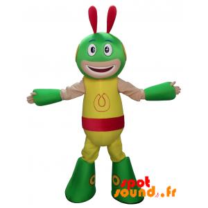 Mascotte d'extra-terrestre, d'alien, de créature colorée - MASFR034313 - Mascottes de monstres