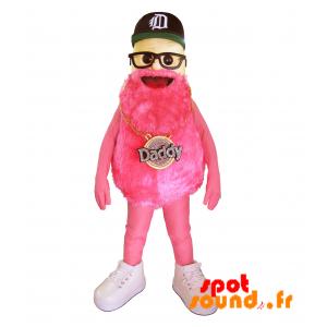 Man Mascot Bearded Famous Brand Daddy - MASFR034320 - mascotte