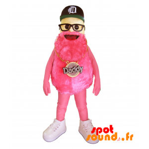 Man Mascot Bearded Famous Brand Daddy - MASFR034320 - Mascots famous characters