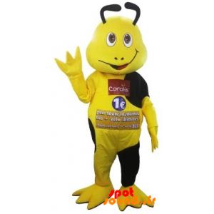 Mascot Yellow And Black Insect Coralis. Mascot Coralis - MASFR034326 - mascotte