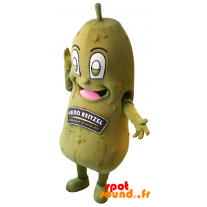 Mascot Hugo Reitzel Pickle. Giant Pickle - MASFR034332 - Mascot of vegetables