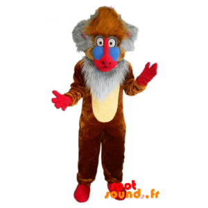 Mascot Rafiki Famous Monkey Cartoon The Lion King Drawing - MASFR034342 - mascotte