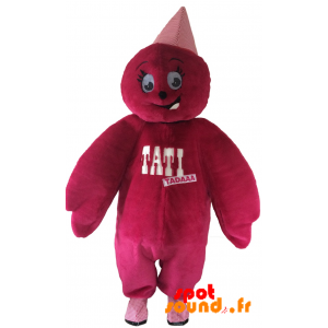 Mascot Doll, Pink Teddy Tati. Mascot Tati - MASFR034354 - Mascots unclassified