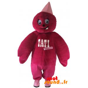 Mascot Doll, Pink Teddy Tati. Mascot Tati - MASFR034354 - mascotte