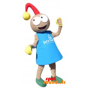 Mascotte de poupon, de lutin avec un grelot - MASFR034376 - mascotte