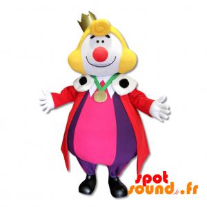 Mascotte du Roi Léon, célèbre personnage des Fêtes de Bayonne - MASFR034380 - Mascottes Personnages célèbres