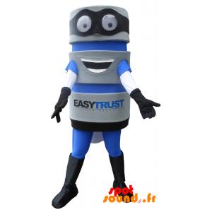 Mascot Verktøy Med En Cape. Maskot Easytrust