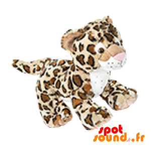 Tiger Gevuld Met Kleine Luipaard Taken - PELFR040001 - plush