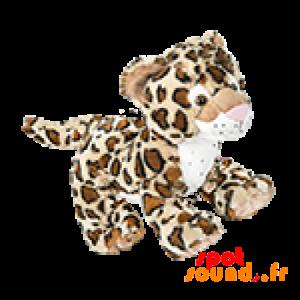 Tigre en peluche de petite taille avec des tâches léopard - PELFR040001 - plush