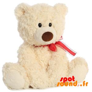Teddy Bear, Beige, Very Sweet And Touching - PELFR040005 - plush