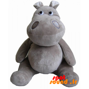 Grau Nilpferd Plüsch. Doudou Hippo - PELFR040013 - plush