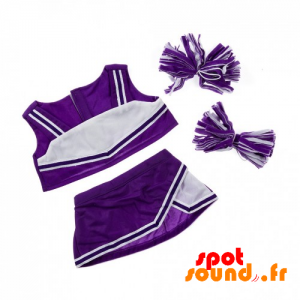 Keeping Cheerleader Purple And White - Plush Accessories - ACC45068 - access