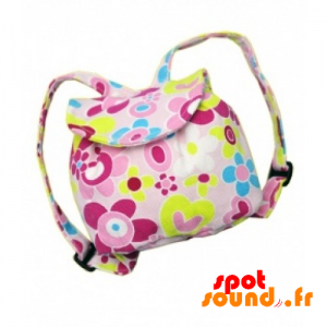 Back Bag With Colorful Flowers - Plush Accessories - ACC45071 - access