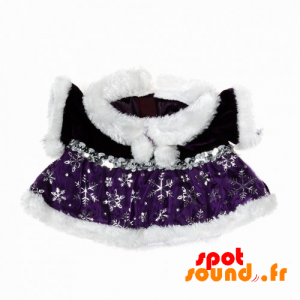 Christmas Dress With Fur And Silver Motifs - Plush Accessories - ACC45075 - access