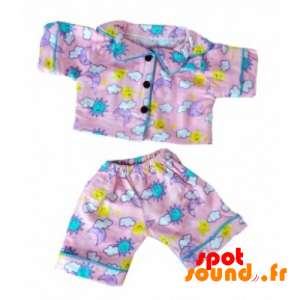Pink Pajamas With Colorful Patterns - Plush Accessories - ACC45085 - access