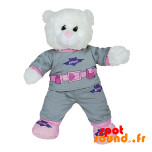 Pajama Batgirl With Gray And Pink Slippers - Plush Accessories - ACC45093 - access