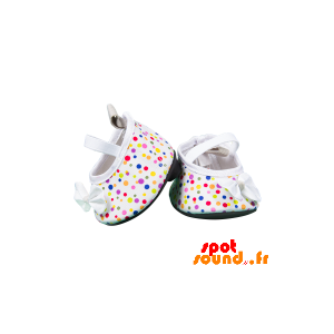 White Shoes With Colored Dots - Plush Accessories - ACC45095 - access