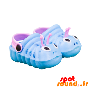 Blue Shoes And Pink Caterpillar-Shaped - Accessory Plush - ACC45096 - access