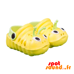Yellow And Green Shoes Shaped Caterpillar - Plush Accessories - ACC45098 - access