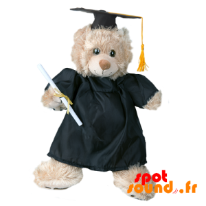 Black Gown Student. Keeping Young Graduate - Plush Accessories - ACC45100 - access