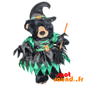 Dress And Pointy Witch Hat - Plush Accessories - ACC45102 - access