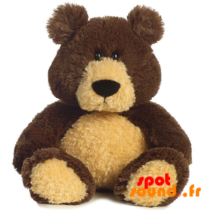 Teddy Large Brown And Beige, Plush - PELFR040017 - plush