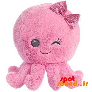 Octopus Plush Pink, Making A Glance - PELFR040025 - plush
