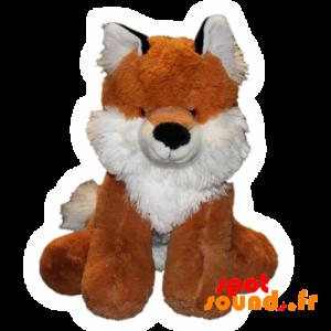 Fox Plush, Orange And White. Realistic Fox - PELFR040032 - plush