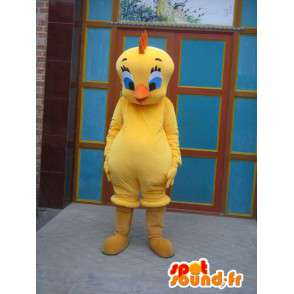 Titi mascot - Canary Yellow Pack 2 - famous person - MASFR00181 - Mascots Tweety and Sylvester