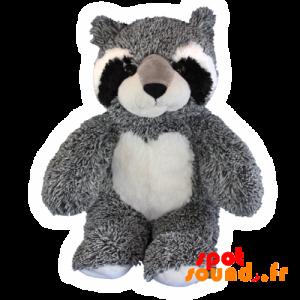 Raton Scrubber Gray, Black And White Plush. Plush Forest - PELFR040033 - plush