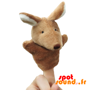 Puppet Kangoeroe-Achtige Vingers. Kangaroo Plush - PELFR040034 - plush
