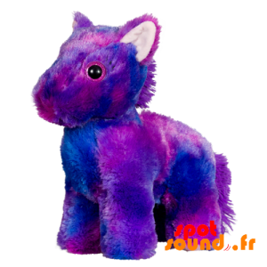 Pony Purple Plush, Soft And Hairy