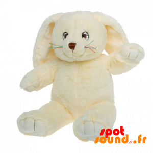 Stuffed Bunny, Yellow With Big Ears