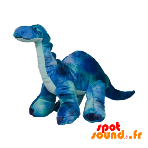 Dinosaure en peluche, bleu. Peluche dinosaure