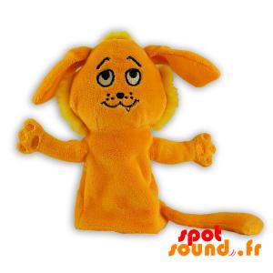 Finger Dukke Formet Lion. Utstoppet Løve - PELFR040287 - plush
