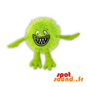 Plush Green And Hairy. Green Bird Plush - PELFR040307 - plush