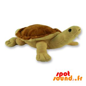 Tortue marron en peluche. Peluche tortue marron - PELFR040309 - plush