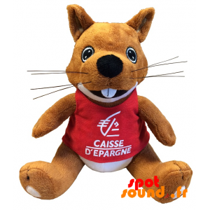 Squirrel Plush. Plush Savings Bank - PELFR040327 - plush