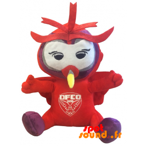 Red Owl Pluche. Pluche Uil Dfco - PELFR040330 - plush