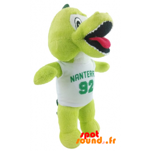 Crocodile Nanterre Stuffed. Nanterre Plush Crocodile - PELFR040335 - plush