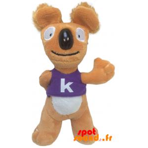 Koala'S, Oranje En Wit. Pluche Koala - PELFR040337 - plush