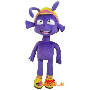 Extra-terrestre en peluche violet. Peluche extra-terrestre - PELFR040339 - plush