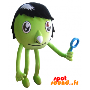 zelená plněná. zelený tvor nadívané - PELFR040341 - plush